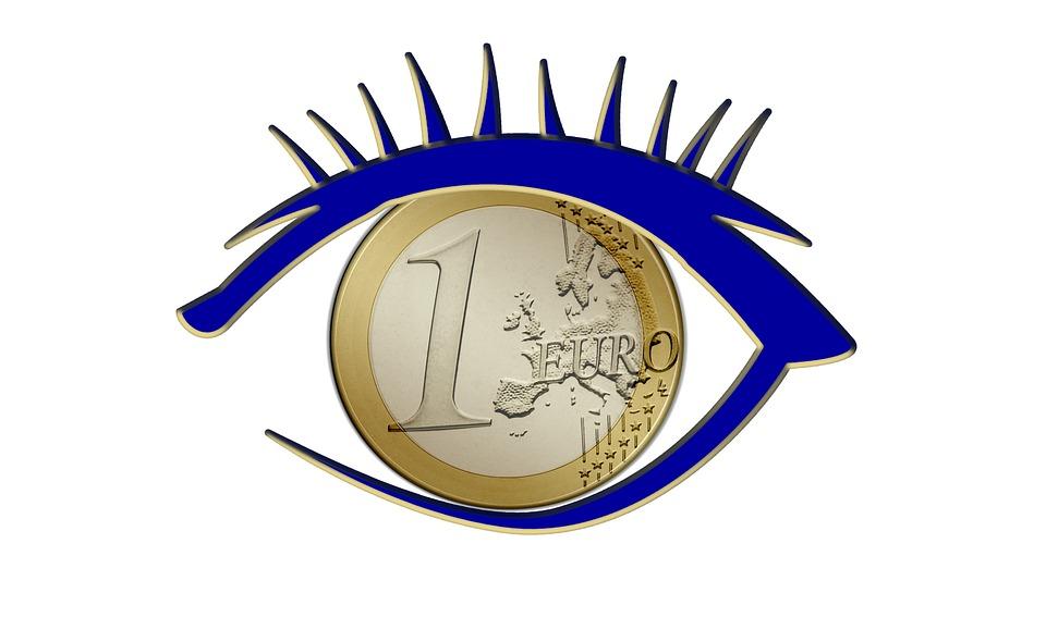 euro v oku