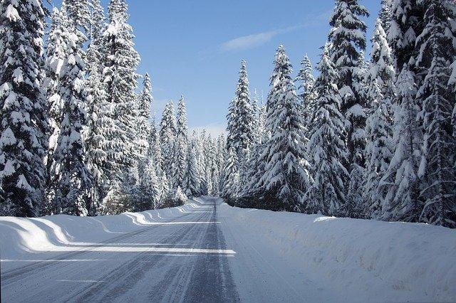 silnice na horách