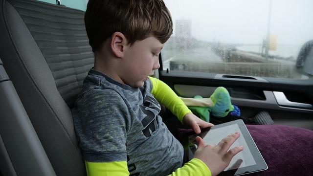 cestování s tabletem